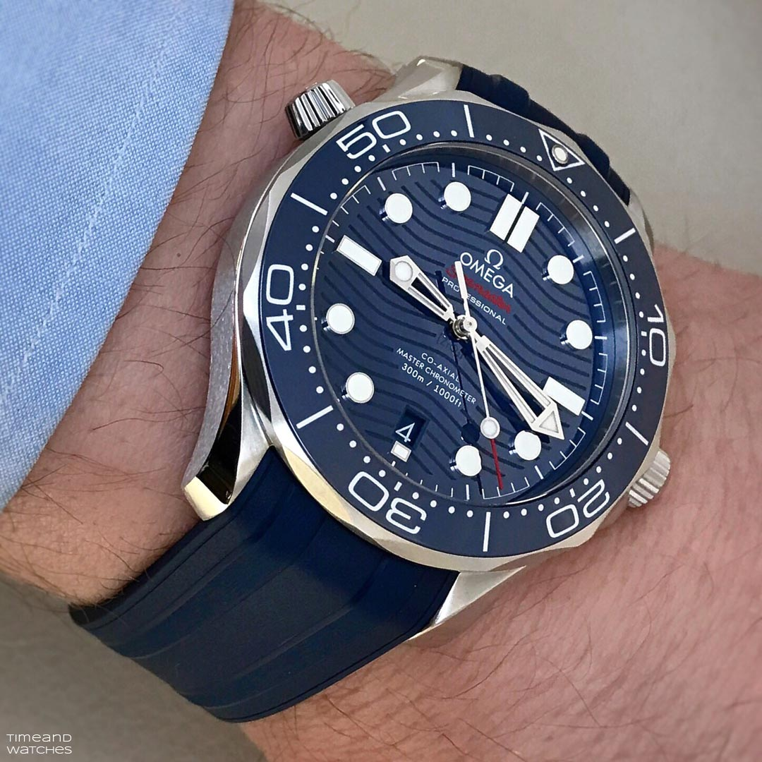 New Omega Seamaster Bullhead Co-Axial Chronograph 43mm ...