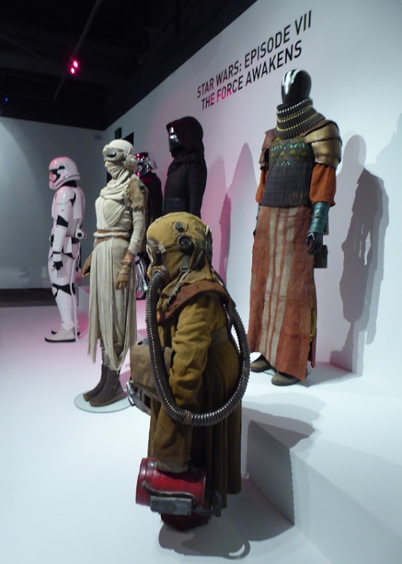Star Wars Force Awakens film costumes