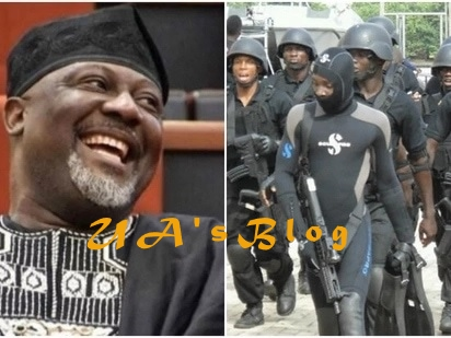 Drama In Kogi As Vigilantes Allegedly Mount 'Protective Ring' Around Melaye, Prevent His Arrest By SARS Operatives