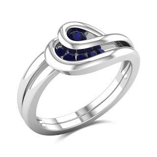 Sapphire Ring - Zaamor Diamonds