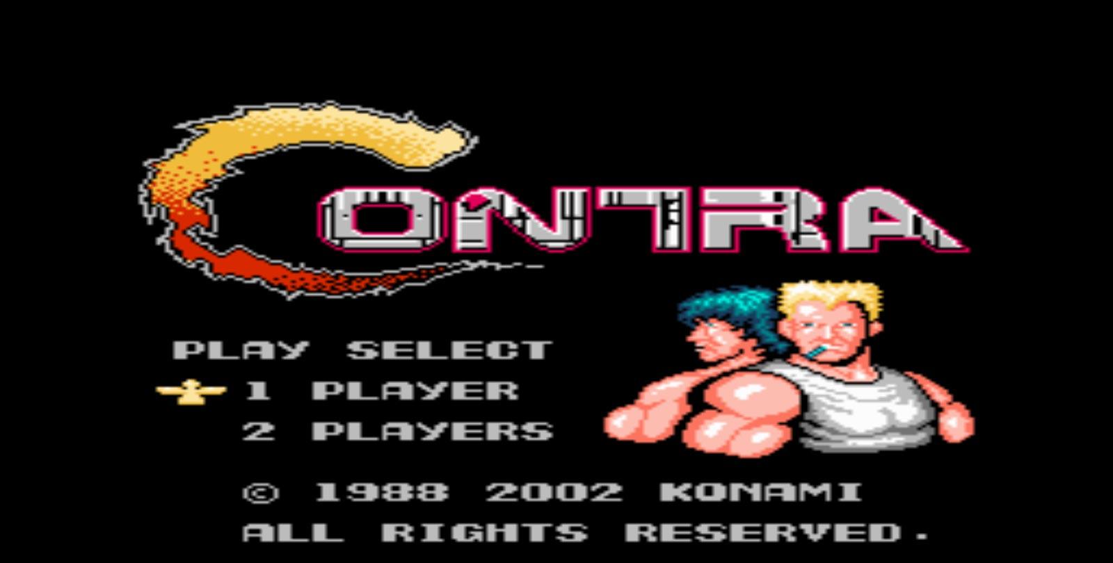 لعبة كونترا القتالية اتاري CONTRA - منصة تجربة