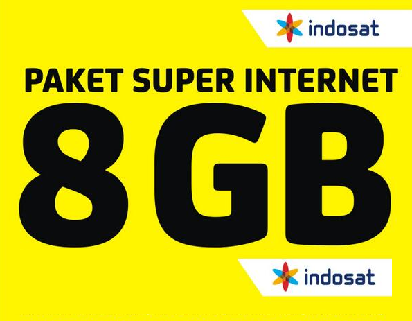 Paket Super Internet 8GB