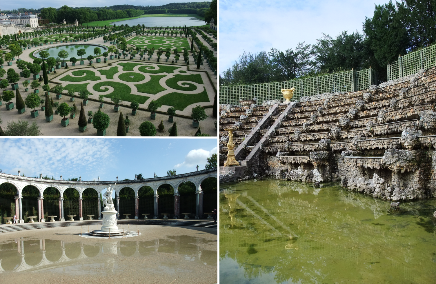 Versailles Paris tropical chateau France water fountain