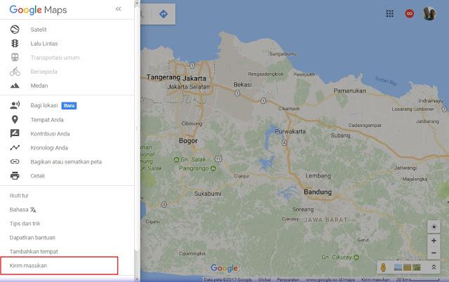 Cara Melapor ke Google Maps