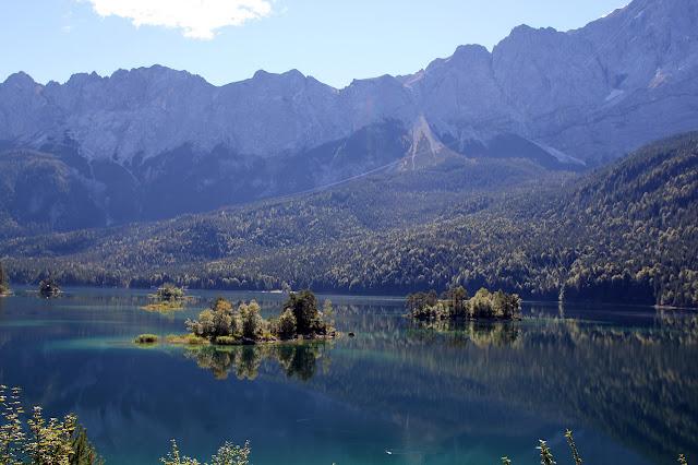 Eibsee Grainau Zugspitze maisema