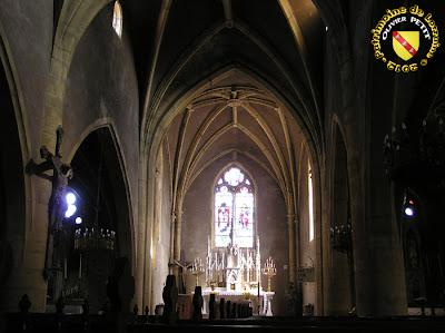 NORROY-LE-VENEUR (57) - L'église Saint-Pierre (intérieur)