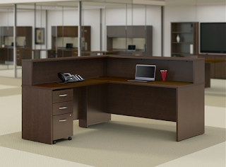 Bush Series C Elite Reception Desk