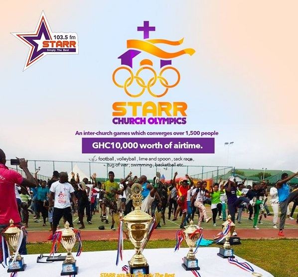All set for 2018 Starr Fm Church Olympics at El-Walk Sports Complex Today