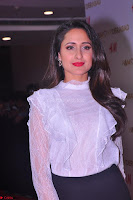 Pragya Jaiswal in lovely Black Mini Skirt and White Transparent Shirt ~  Exclusive 034.JPG