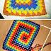 Pattern/ Patrón: Another blanket...very easy/ otra manta o colcha ... muy fácil