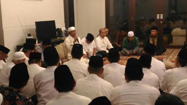 Pulang Haji Bupati OKI disambut Sholawat dan Doa Bersama