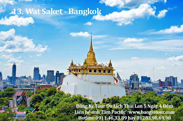 13. Wat Saket - Bangkok