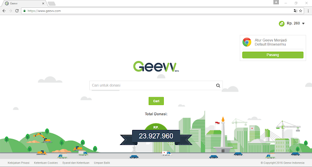GEEVV.COM Search Engine Karya Mahasiswi UI
