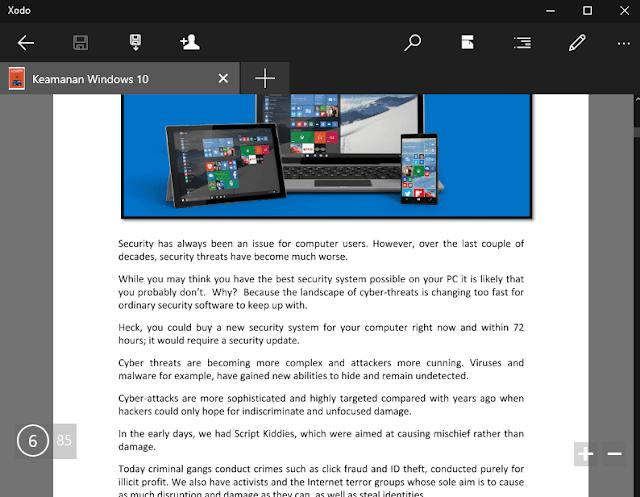 Xodo, Aplikasi PDF Terbaik di Windows 10
