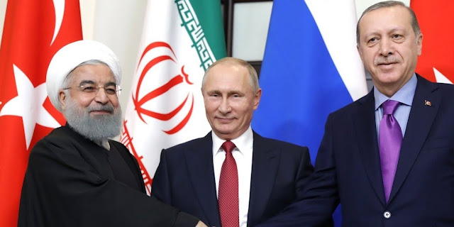 The Rise of New Alliance: Russia, Turkey and Iran