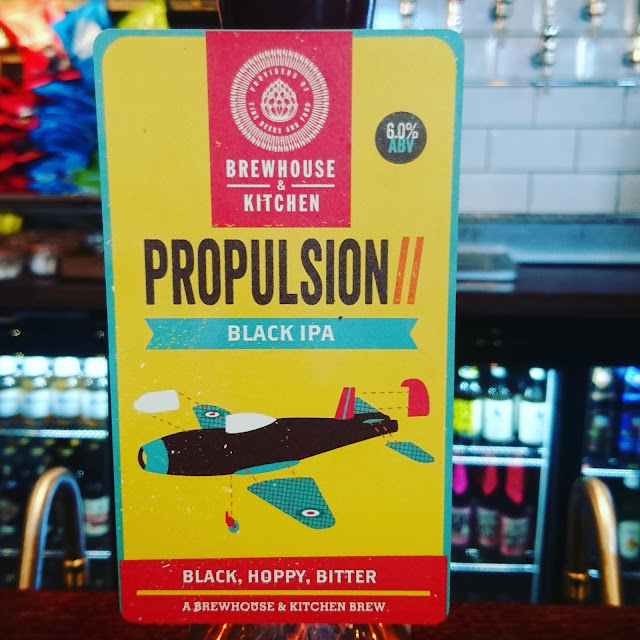 Propulsion II from Brewhouse and Kitchen craft beer real ale pump clip