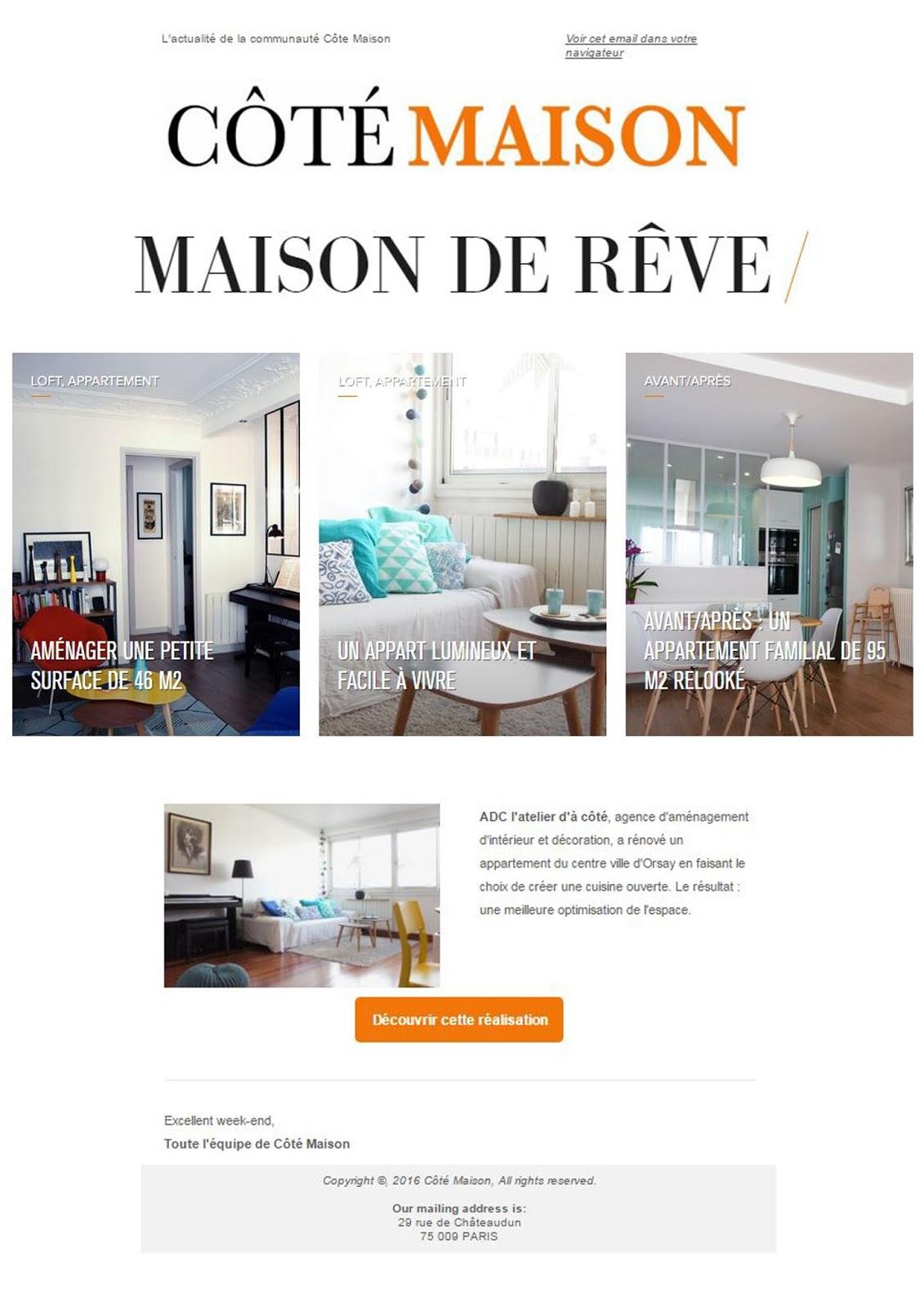 adc l 39 atelier d 39 c t am nagement int rieur design d 39 espace et d coration le site c t. Black Bedroom Furniture Sets. Home Design Ideas