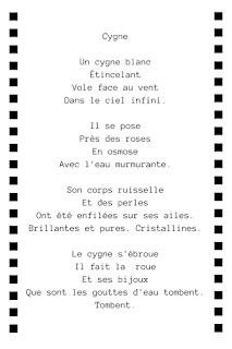Poème cygne cygne poème