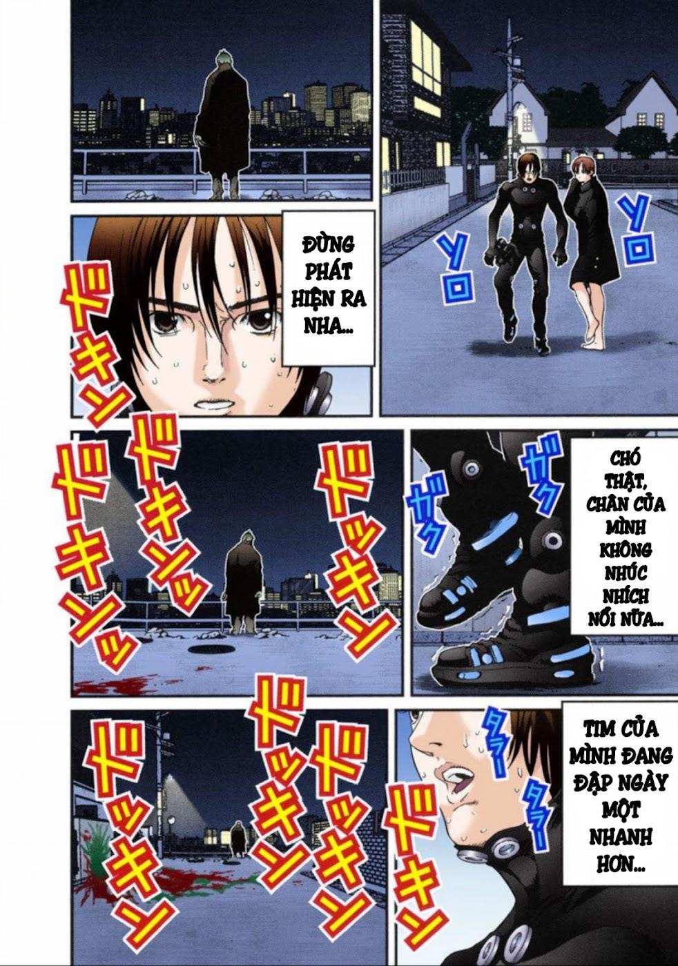 Gantz Chap 13: Đôi mắt trang 10