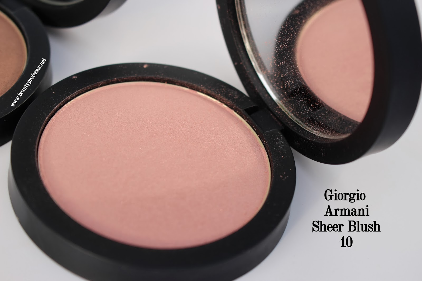 One of the most mysterious qualities of the Giorgio Armani Sheer Blush 10  is its ability to go from appearing like a conventional pale pink in the  pan to ... 2ed0e4293789