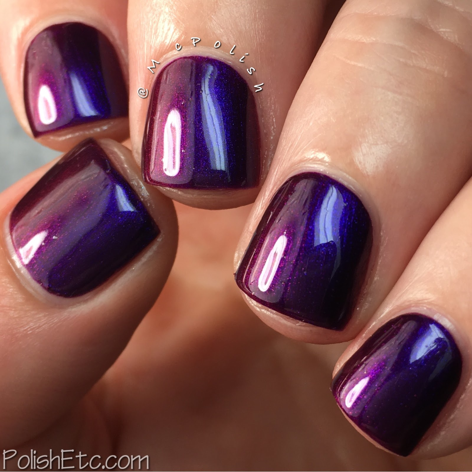 Great Lakes Lacquer - Polishing Poetic Collection - McPolish - I Carry Your Heart