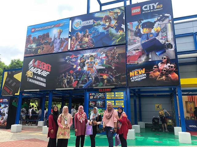 lego 4d movie legoland malaysia