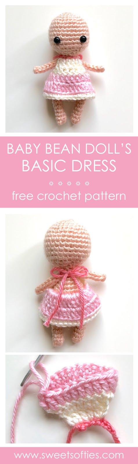 12+ Free Crochet Doll Clothes Patterns | FaveCrafts.com | 1600x476