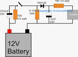 Battery Health Checker Circuit
