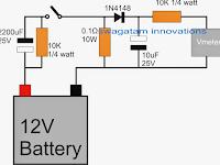 Battery Health Checker Circuit