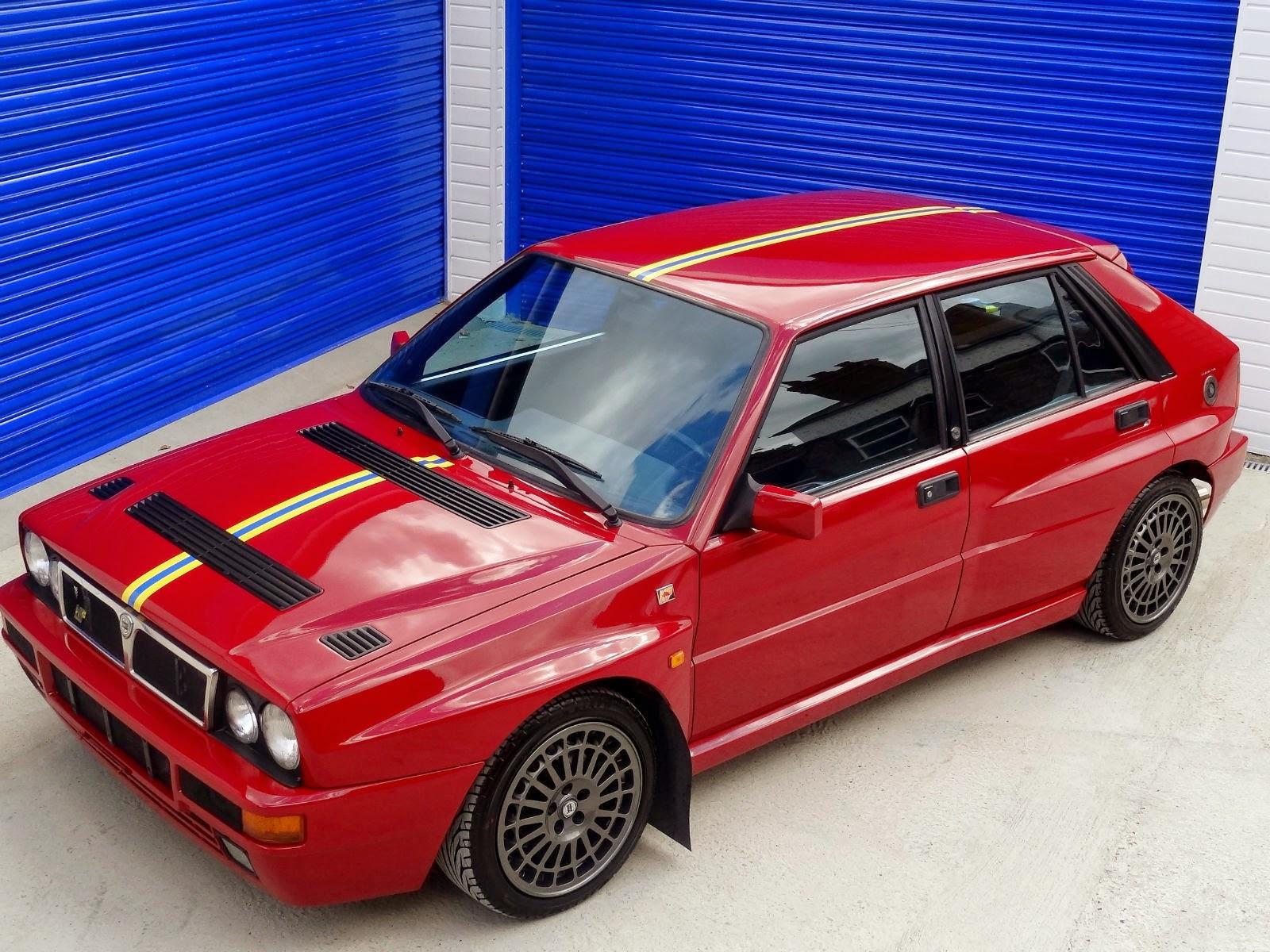 Red Lancia Delta Integrale Evo Ii Final Edition