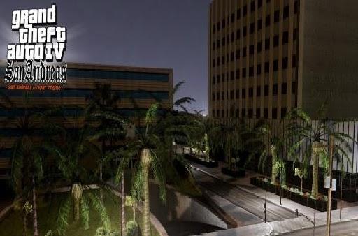 News online games: GTA 4 San Andreas HD: Sun Los Santos on the rage