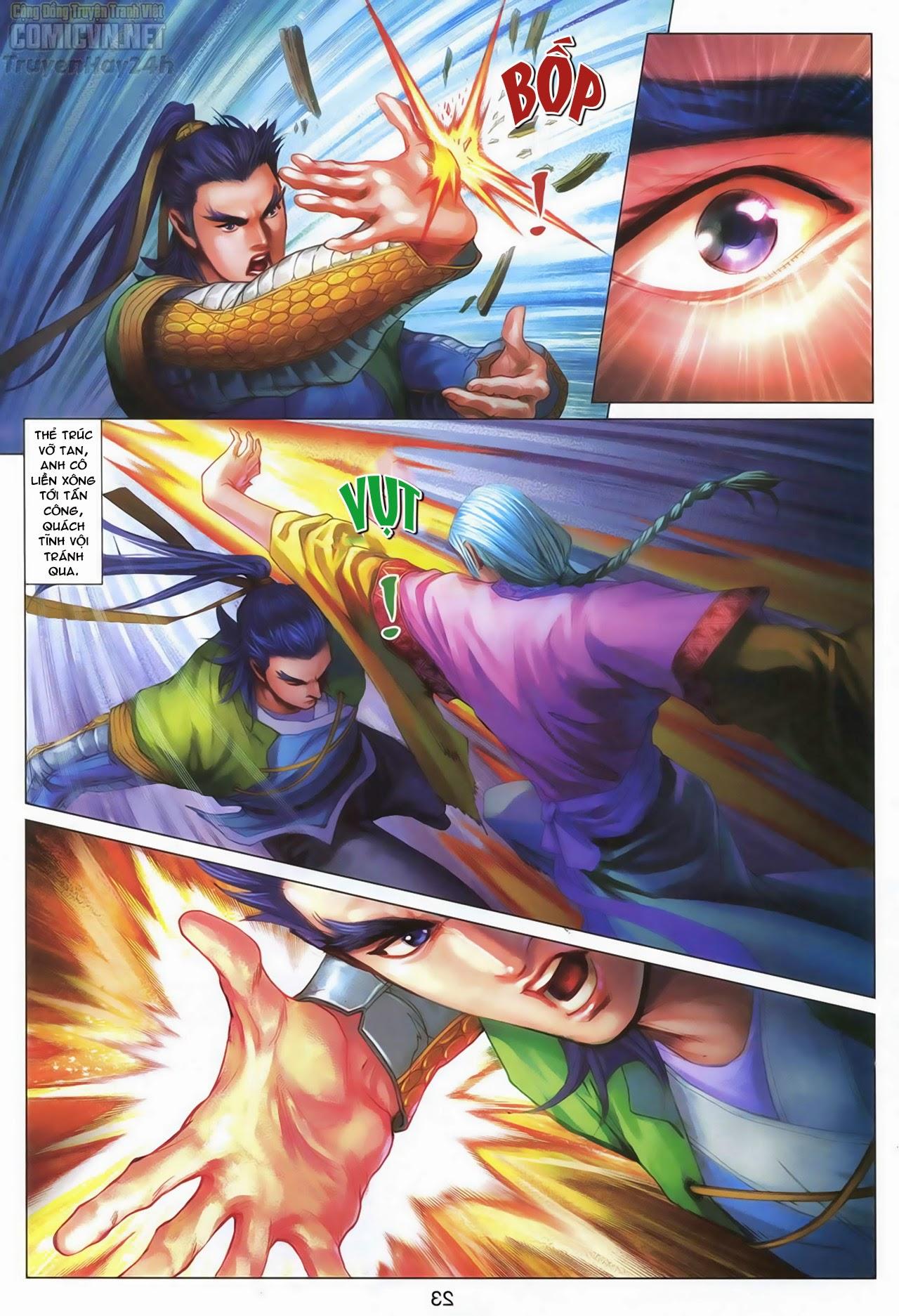 Anh Hùng Xạ Điêu anh hùng xạ đêu chap 70: hắc chiểu ẩn nữ trang 24