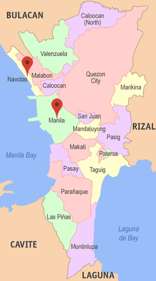 How to go from Manila to Navotas