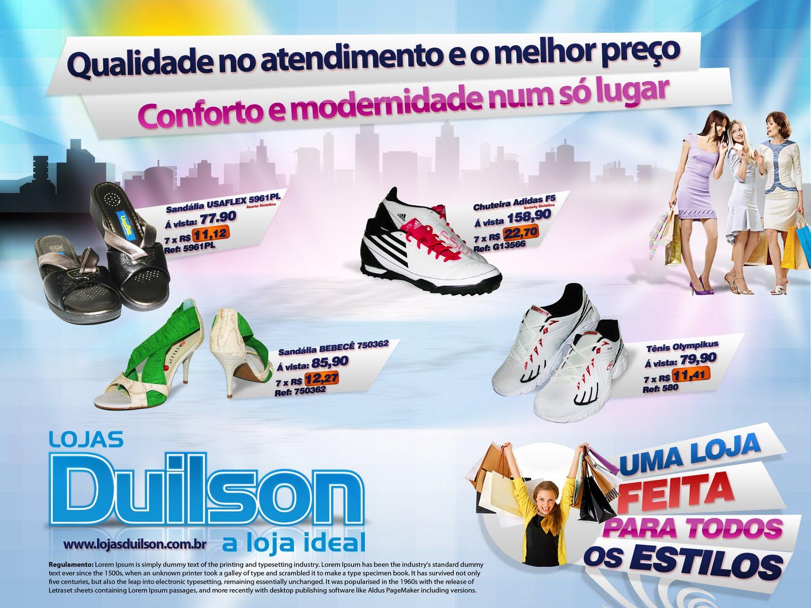 Frases De Inauguração De Loja: TNT Publicidade: Panfleto De Inauguração Lojas Duilson