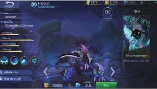 New Hero Mobile Legends, Zhask, Helcurt dan Fasha