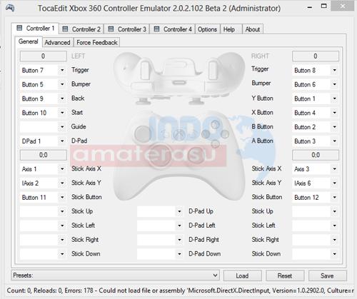 XBOX 360 Controller For Windows Emulator