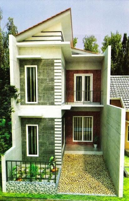 Desain Rumah Minimalis Modern di Lahan yang Sempit