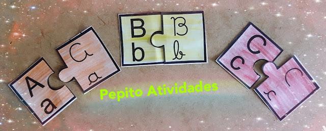Jogo Pedagógico Letra Transição Cursiva Bastão