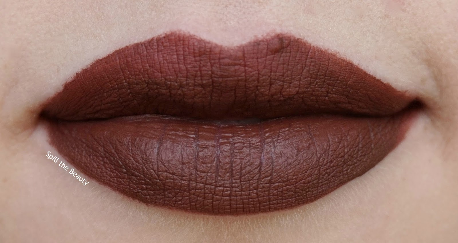 naughty by nature - lips too faced melted mattes review swatch