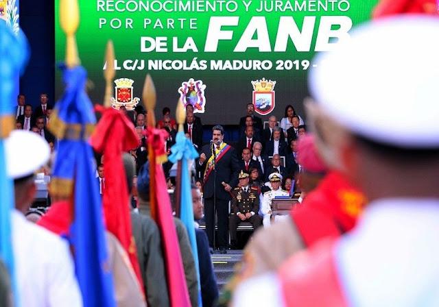 FANB lanzan comunicado apoyando a Maduro - Los soldados no están muy contentos con esto