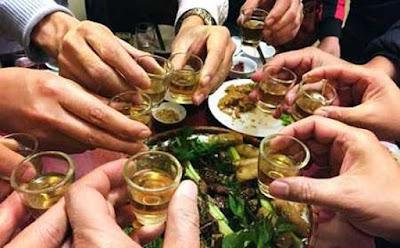 Một số món ăn đồ uống giúp bạn giải rượu dịp tết nguyên đán hiệu quả