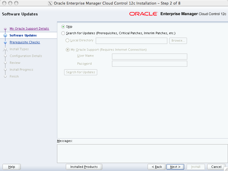 Oracle Enterprise Manager Cloud Control 12c - First