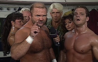 WCW The Great American Bash - Mean Gene interviewed The Four Horsemen