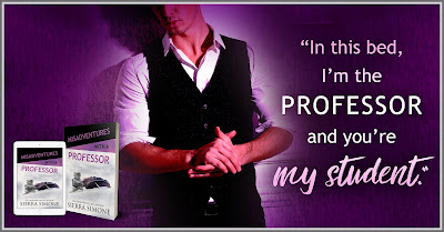 Professor teaser ONE Misadventures with a Professor by Sierra Simone