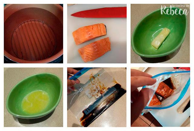 Receta de salmón a baja temperatura (cocinado al vacío) 01