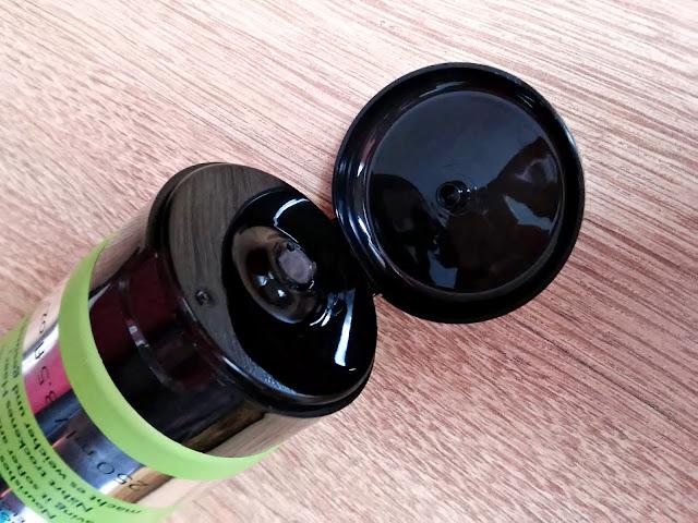 PERFECT.ME, Natural Oils Repair - Szampon odbudowujący do włosów suchych, szorstkich i zniszczonych, otwarcie opakowania