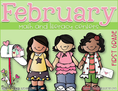 https://www.teacherspayteachers.com/Product/February-Math-and-Literacy-Centers-first-grade-2988339