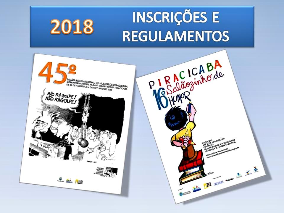 ee6c98925cc43 CARTAZ DO 45º SALÃO INTERNACIONAL DE HUMOR DE PIRACICABA 25/08 A 14/10/2018