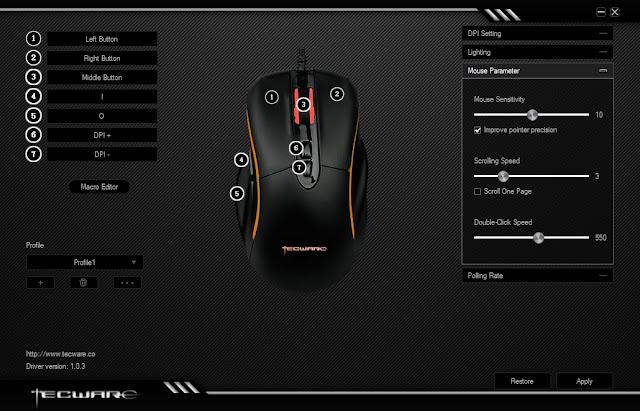 tecware vector huano switch