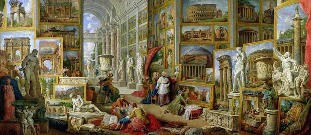Pinturas de la antigua Roma y Derecho romano